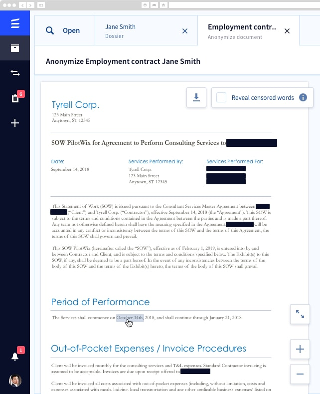 Establish compliance across your organization with powerful anonymization and pseudonymization tool