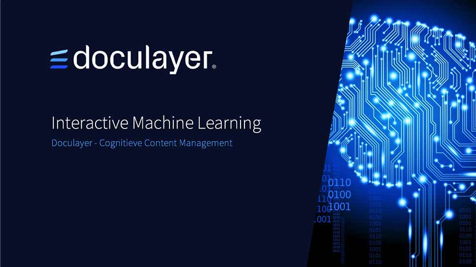 Interactive Machine Learning by Doculayer