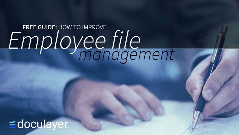 How to improve employee file management